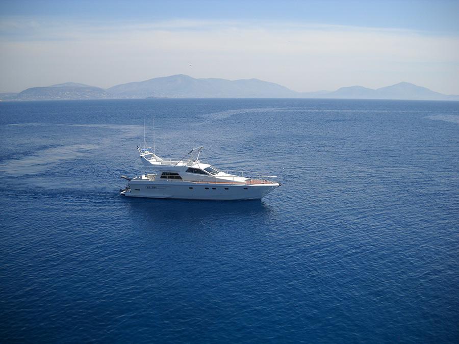 Морская прогулка на яхте