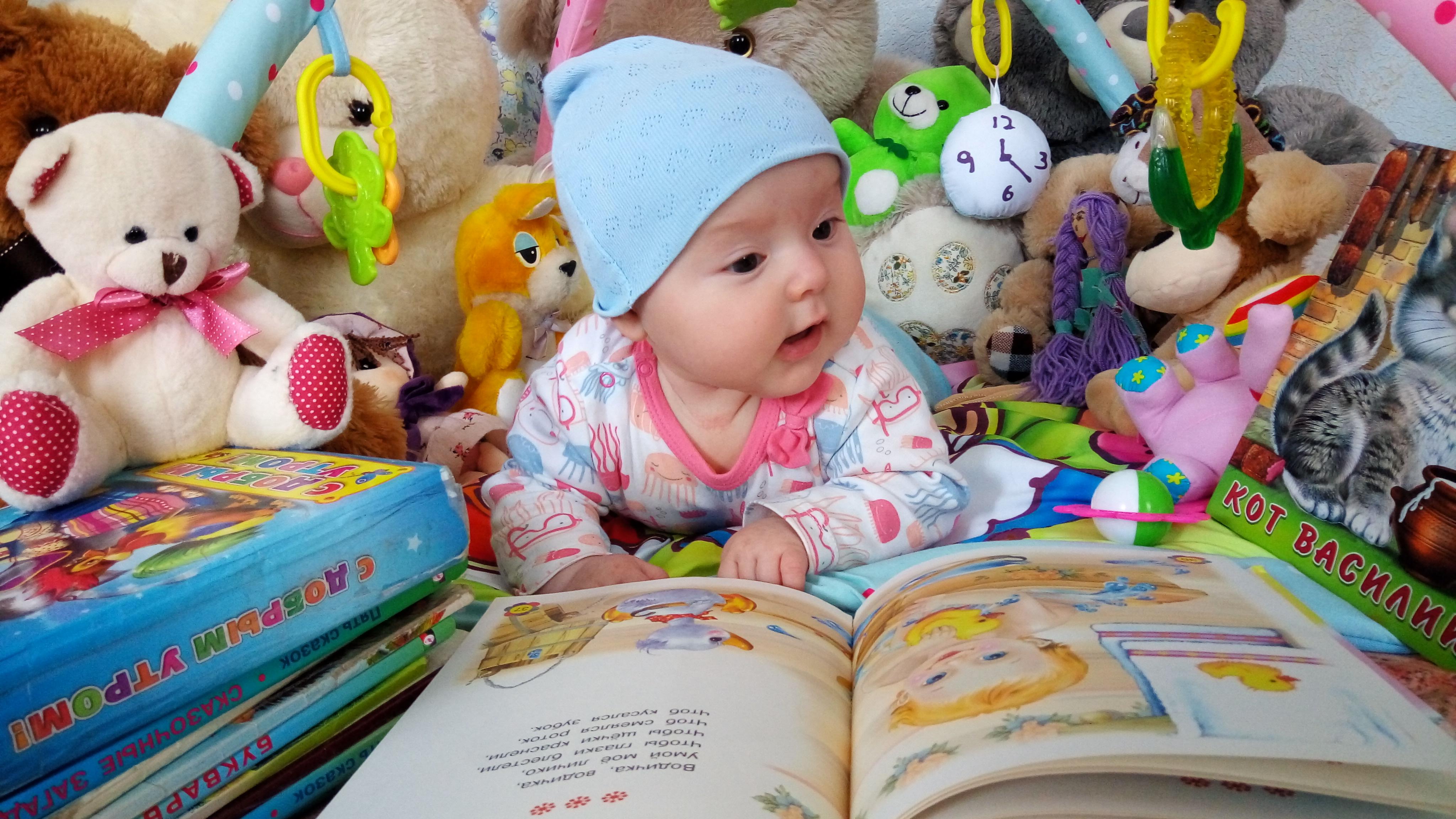 Литратурные часы в компании плюшевых друзей ))). Мои первые книжки и игрушки