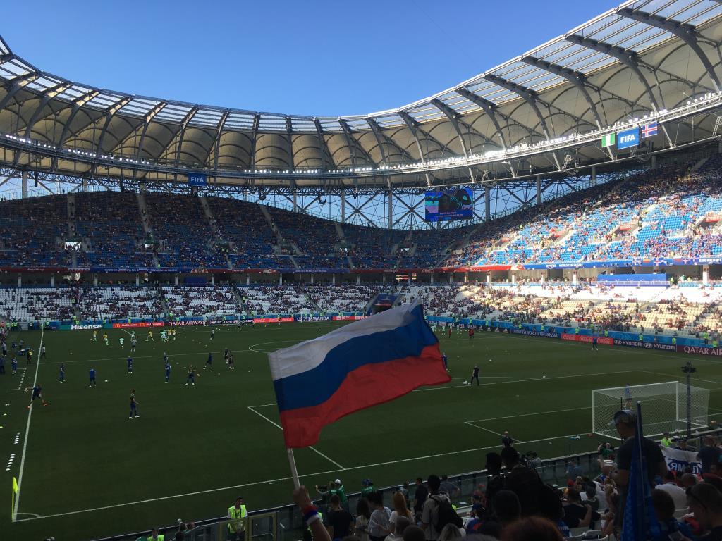 Волгоград Арена FIFA 2018. Блиц: кругом футбол