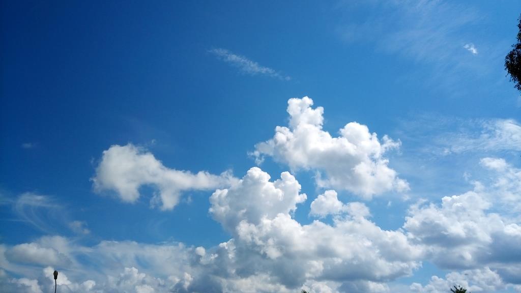 Просто облака... и всё равно красиво.... Блиц: небо в облаках
