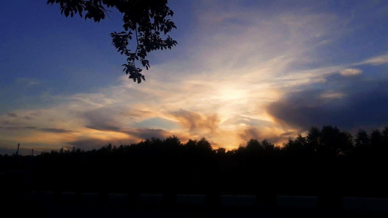 Дымные облака. Блиц: небо в облаках