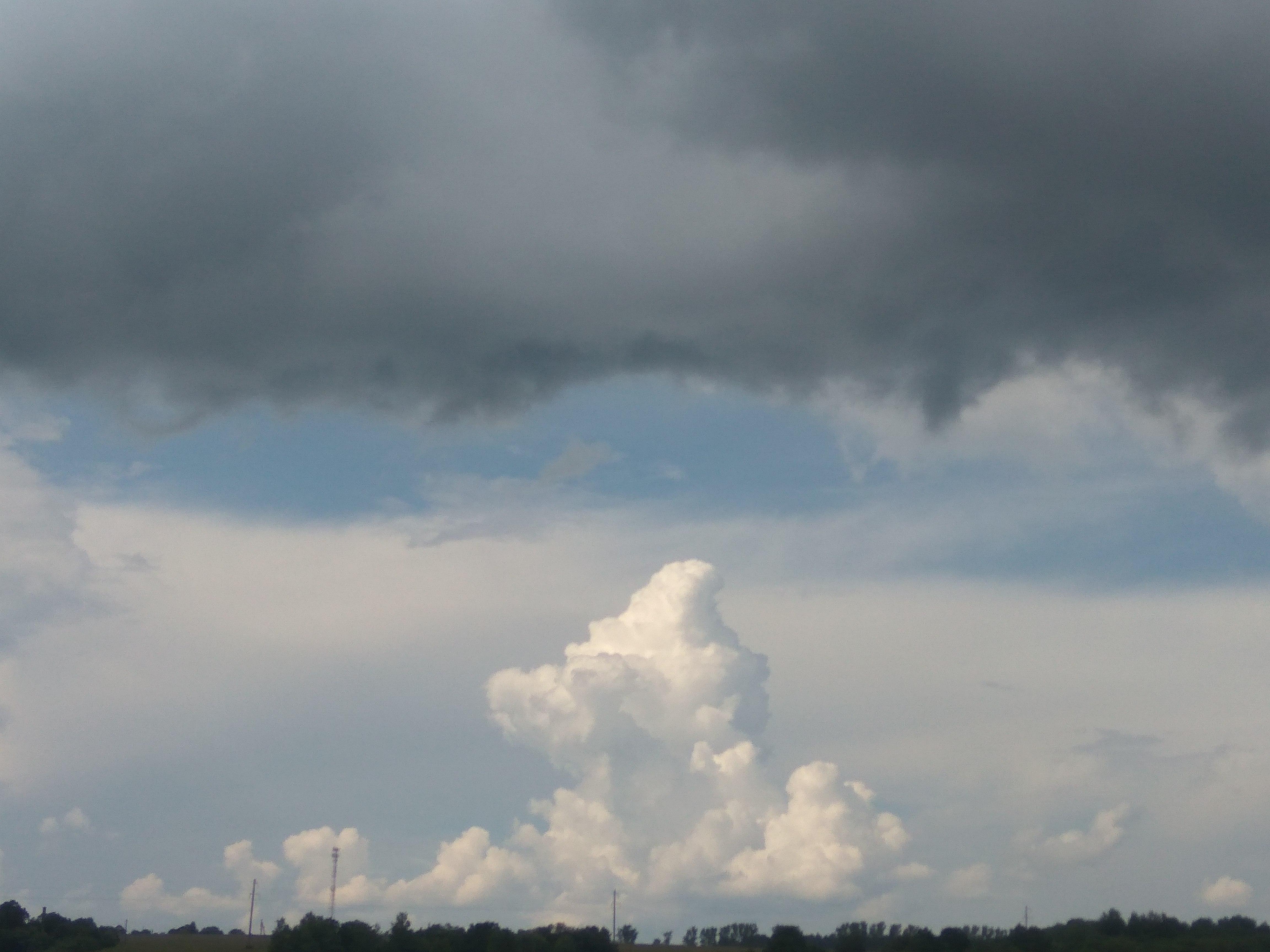 Противостояние. Блиц: небо в облаках