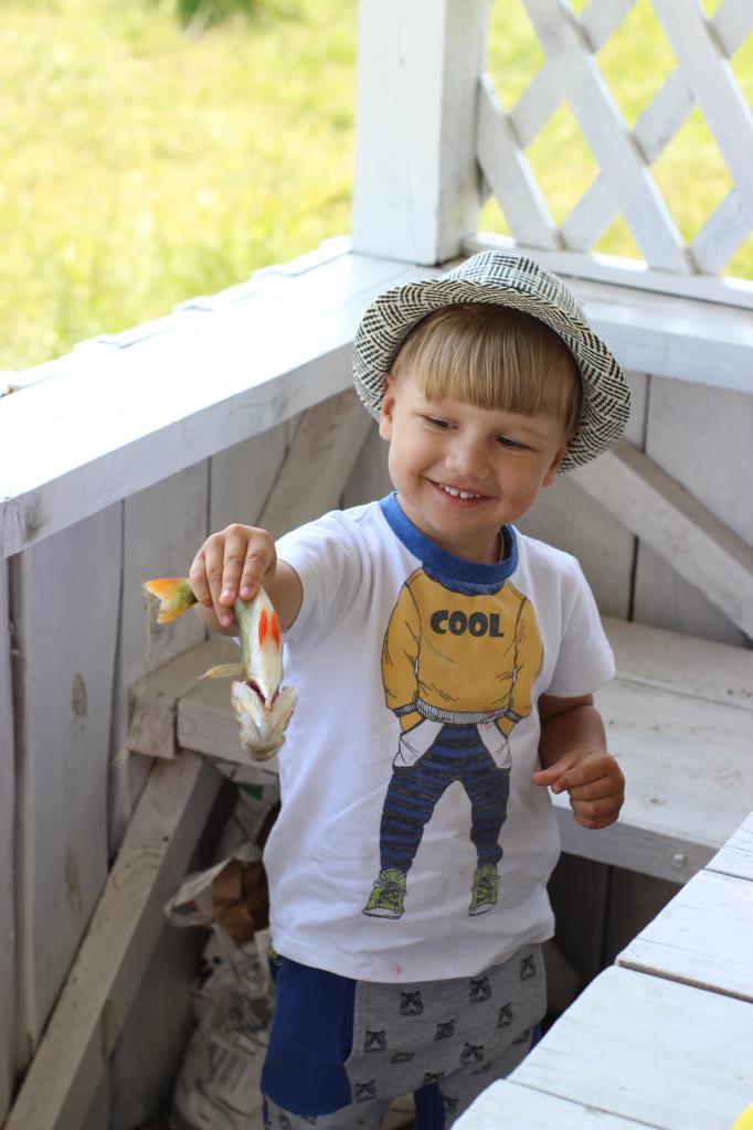 Рыбачок. Наше лето