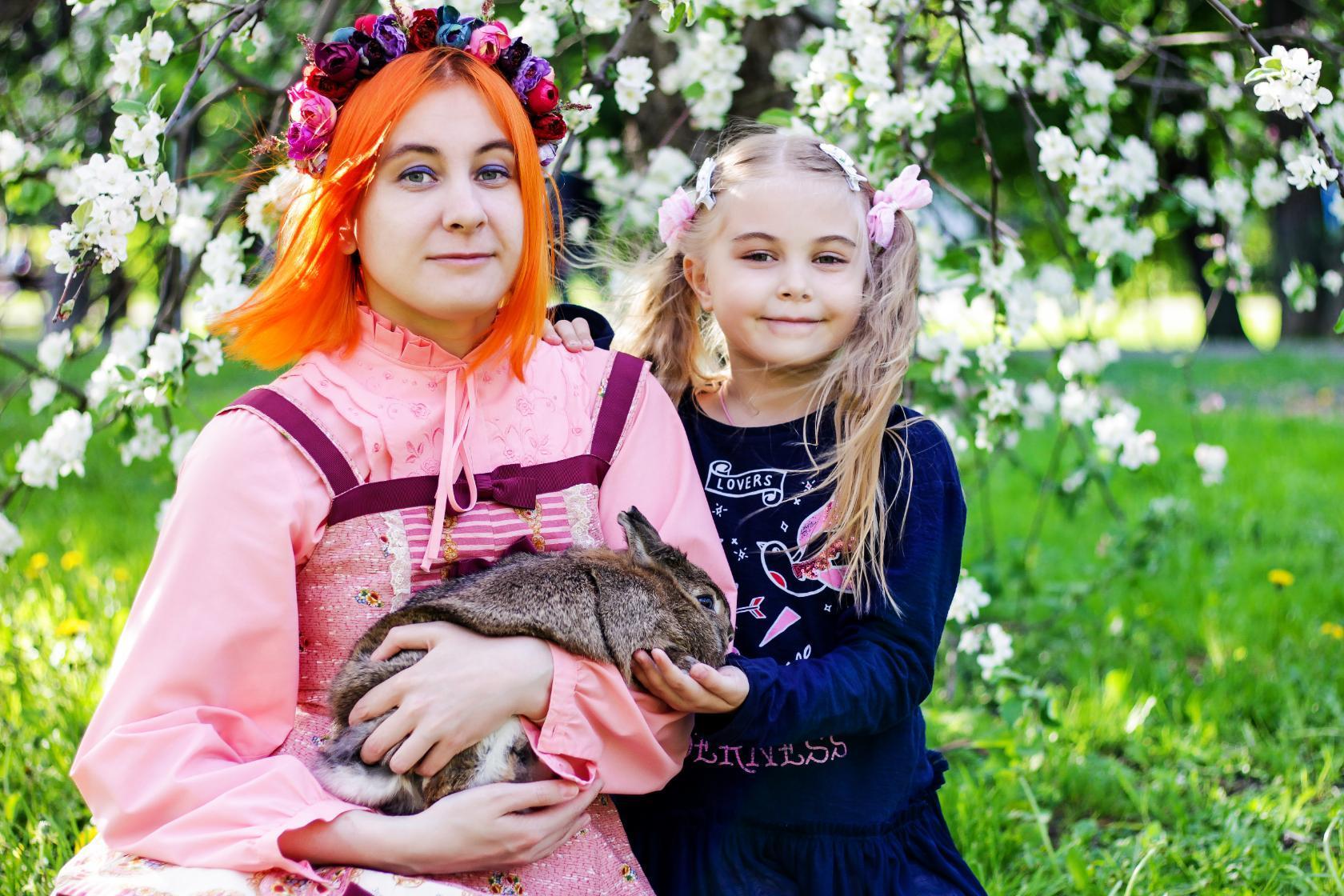 Мы с зайцем. Наше лето
