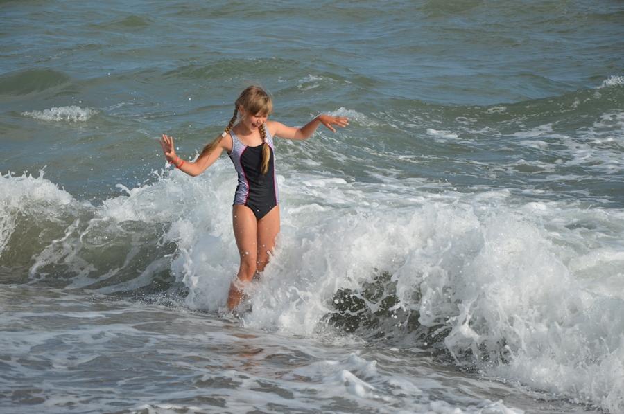 Море волнуется..... Наше лето