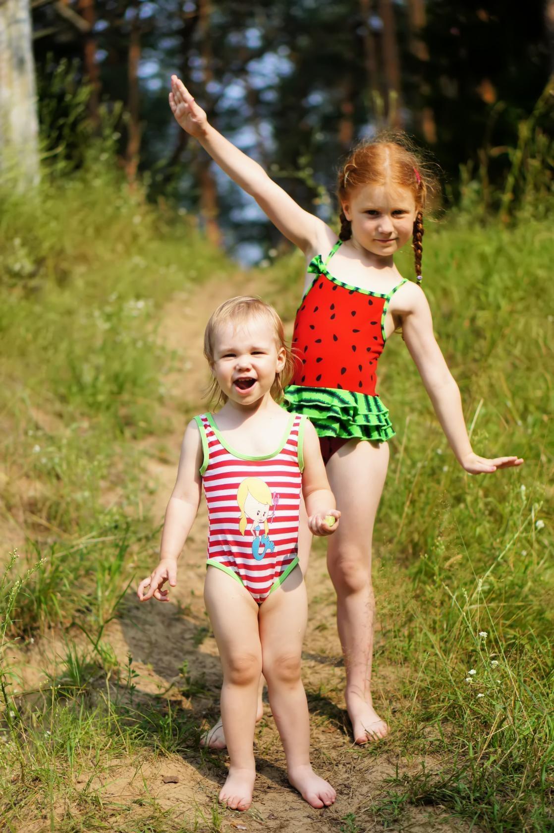 Бежим купаться!!!. Наше лето
