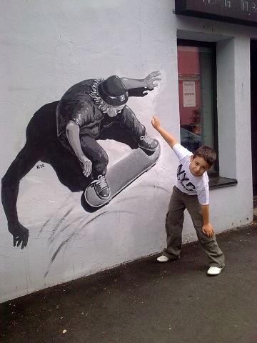 граффити во Флаконе :). Блиц: стрит-арт