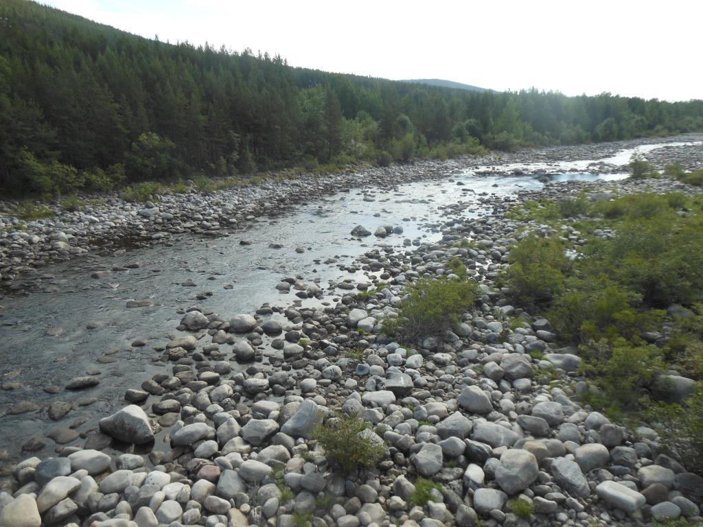 Кандалакша каменная река