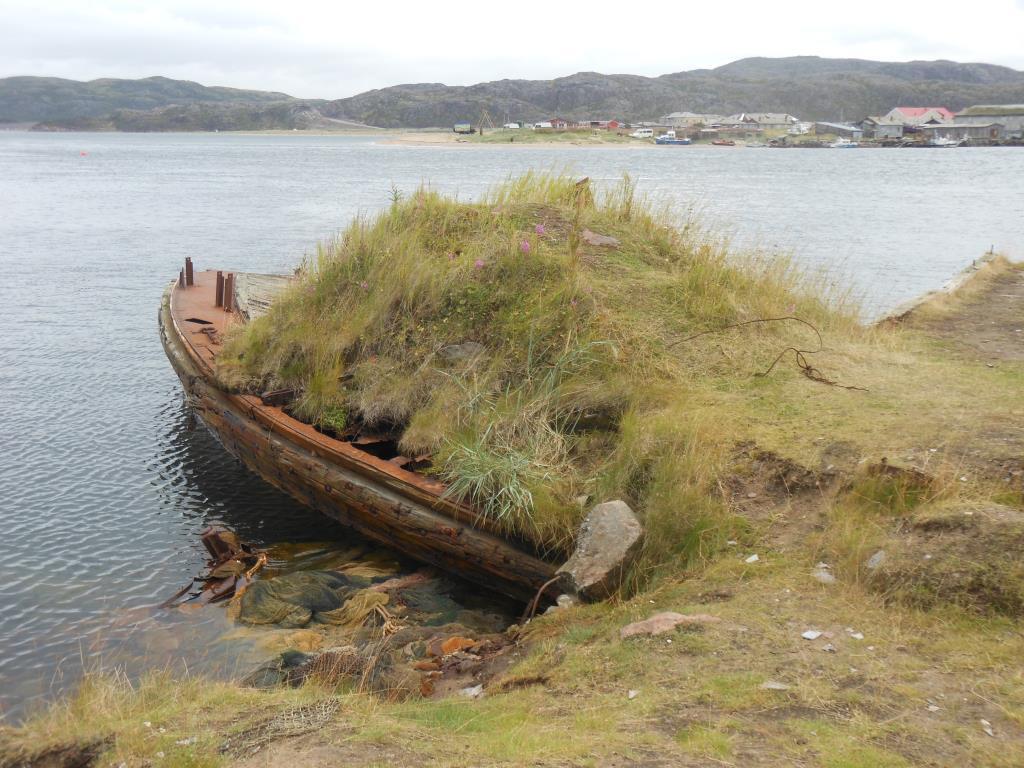 Териберка Кладбище кораблей
