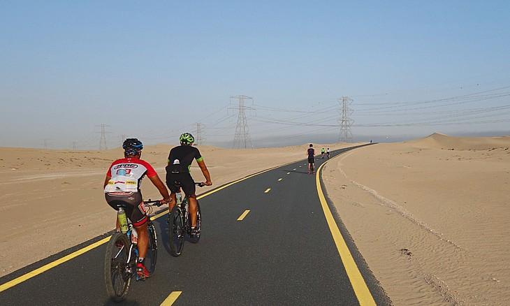 грандиозная велосипедная трасса