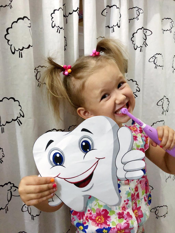 Чистим зубки чисто, чисто!. Чистим зубки