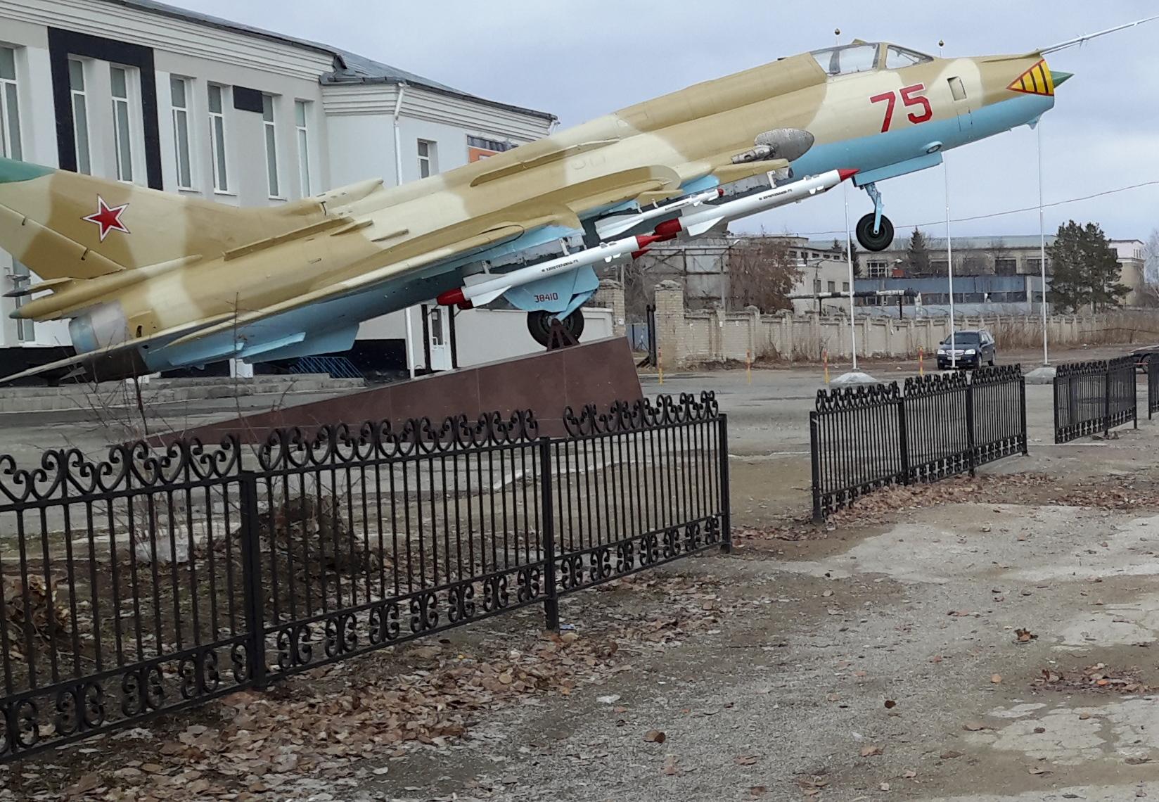 Су-17. Блиц: самолеты