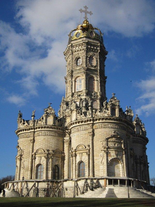 Церковь Знамения в Дубровицах. Блиц: храмы