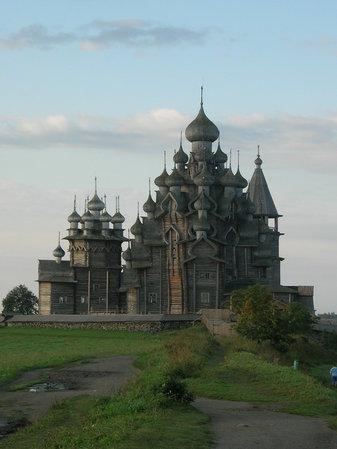 Кижи. Блиц: храмы
