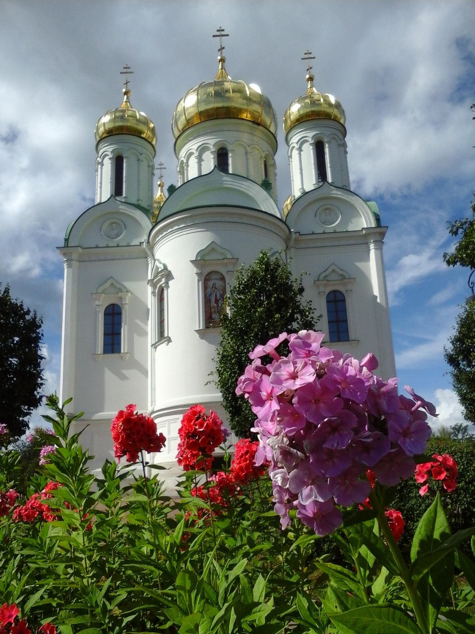 Екатерининский собор , г.Пушкин. Блиц: храмы