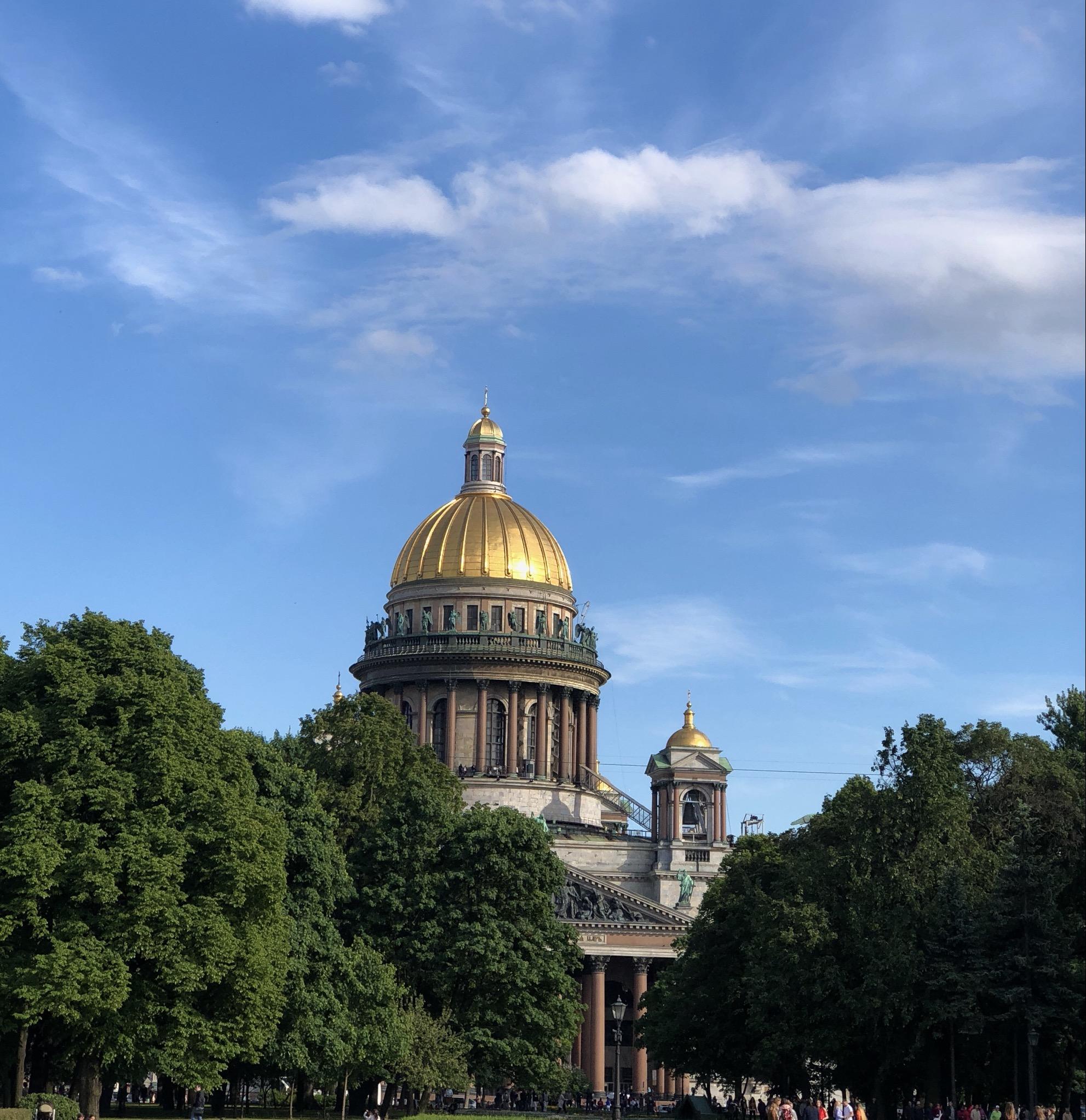 Собор преподобного Исаакия Далматского. Блиц: храмы