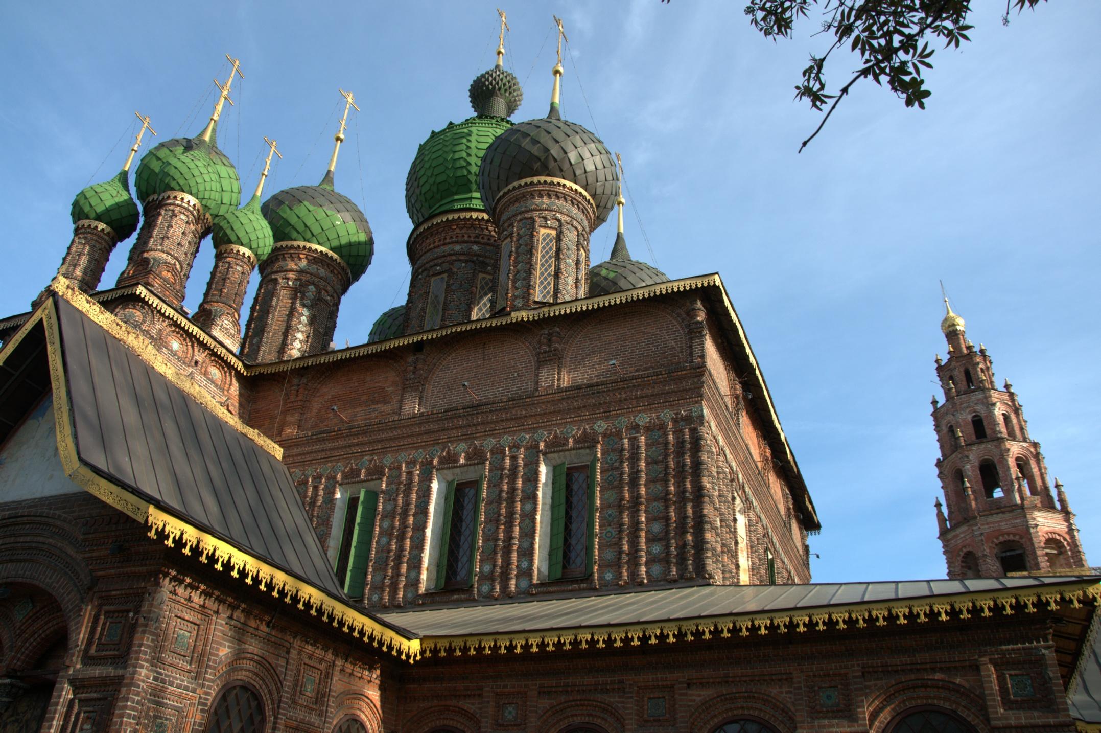 Церковь Иоанна Предтечи. Ярославль. Блиц: храмы