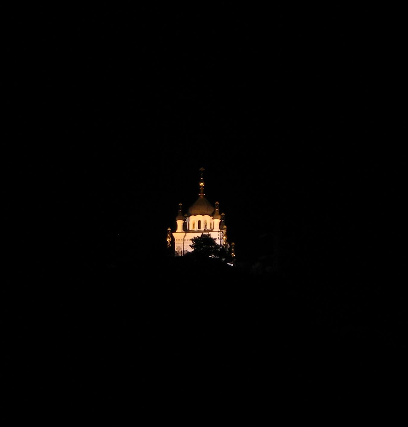 Церковь Воскресения Христова. Форос. Крым.. Блиц: храмы