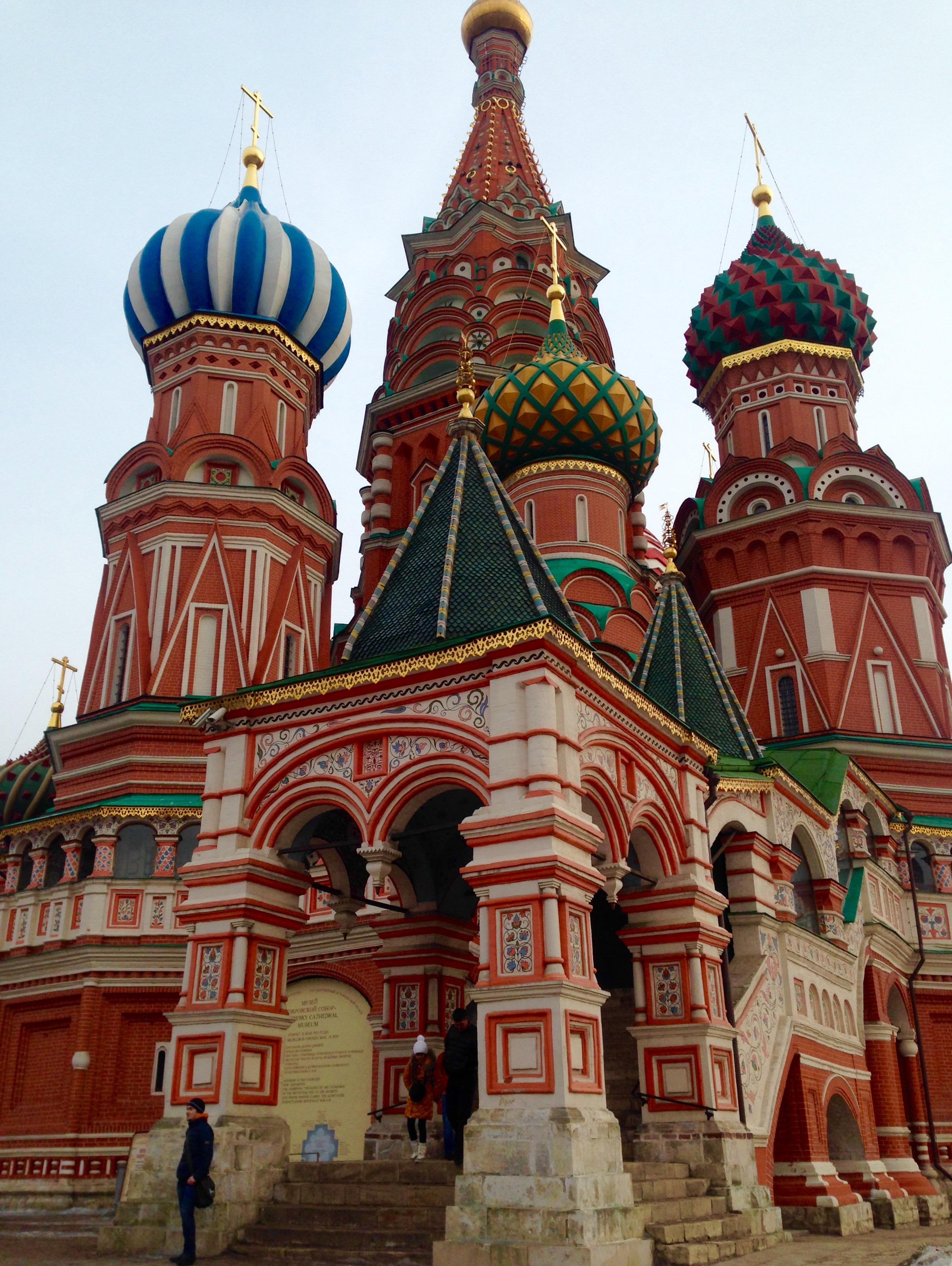 Храм Василия Блаженного . Блиц: храмы