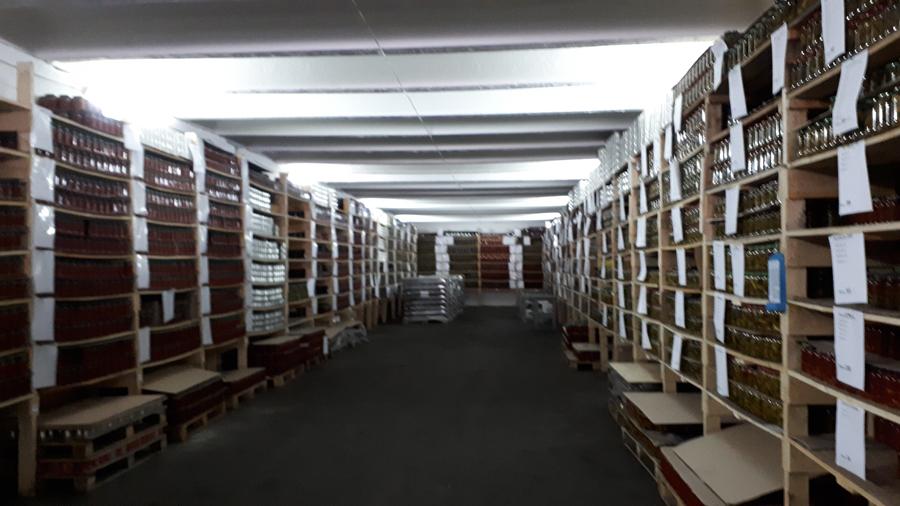 Хранение образцов продукции