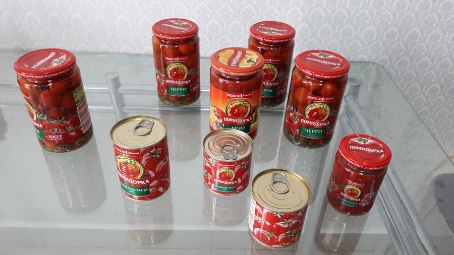 Помидорка томатная паста лечо