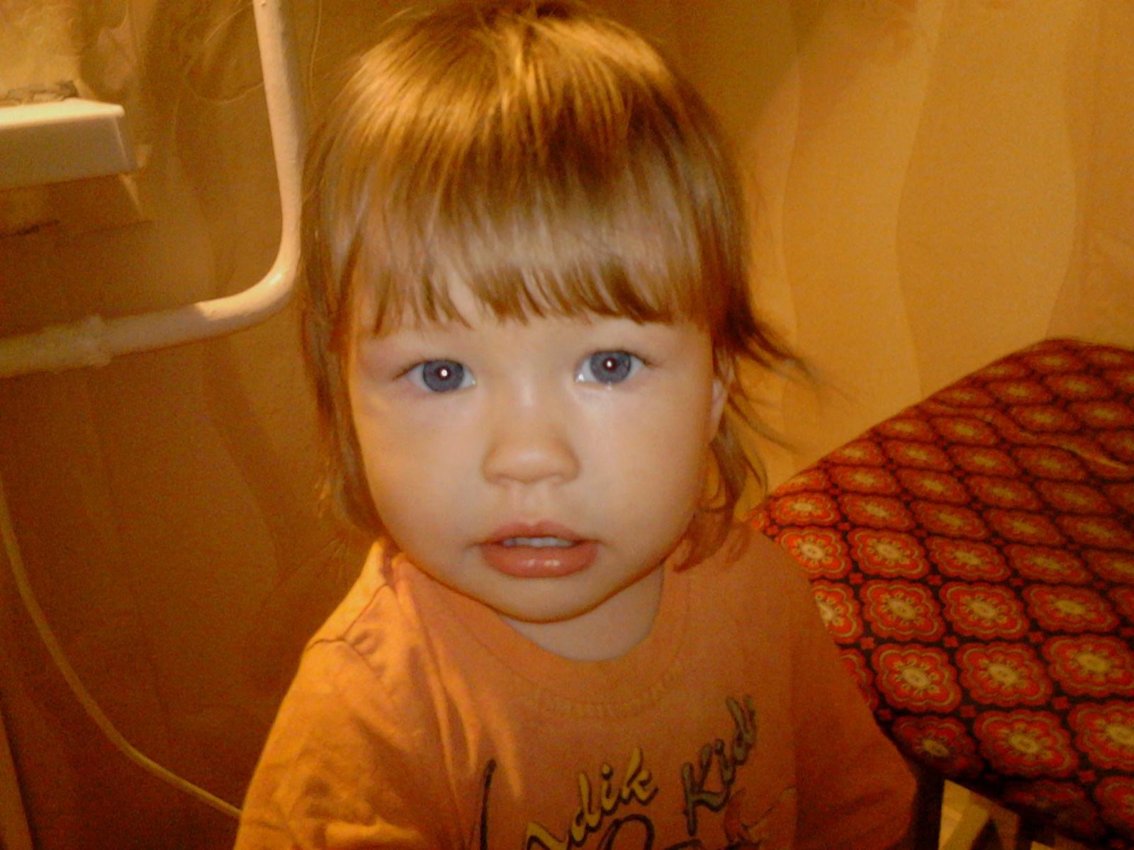 Варвара, 2 года. Лапочка