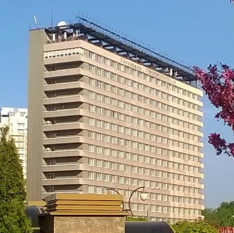 Москва, гостиница Университетская . Блиц: разноцветный город