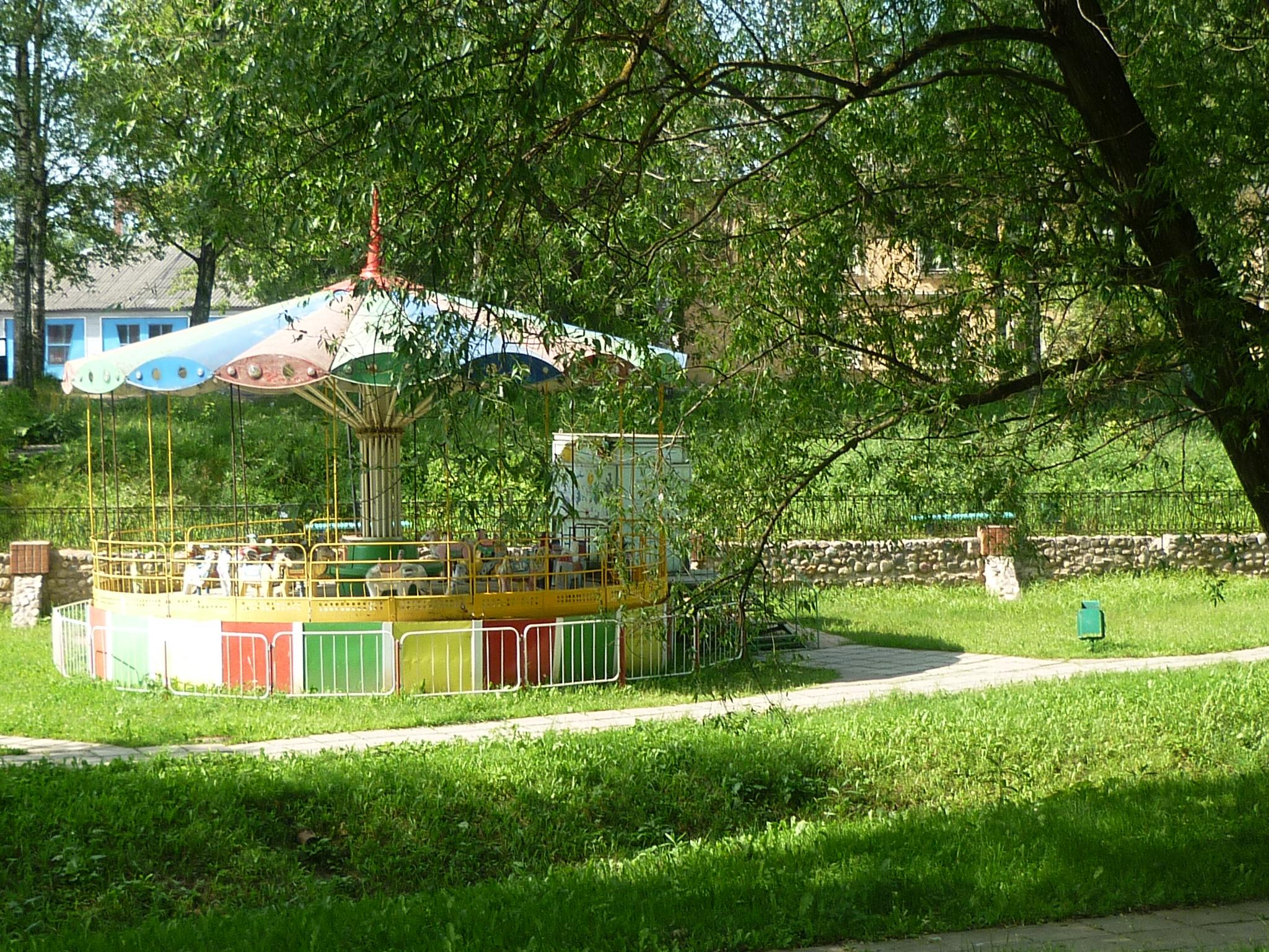 Городской сад. Блиц: разноцветный город