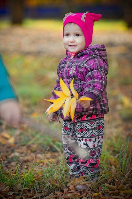 Осенняя прогулка. Лапочка