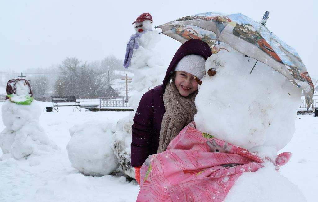 МОЖНО СПРЯТАТЬСЯ ОТ МЕТЕЛИ?. Веселая зима