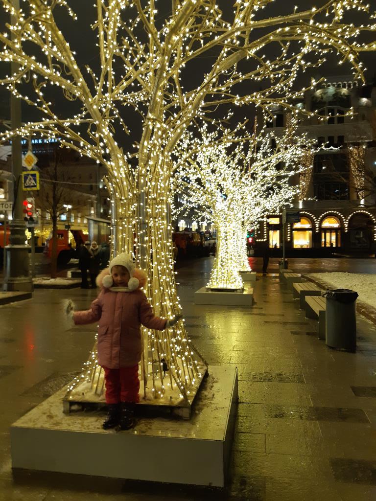 Зима в Москве. Веселая зима