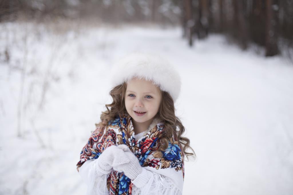 Зимние гуляния. Веселая зима