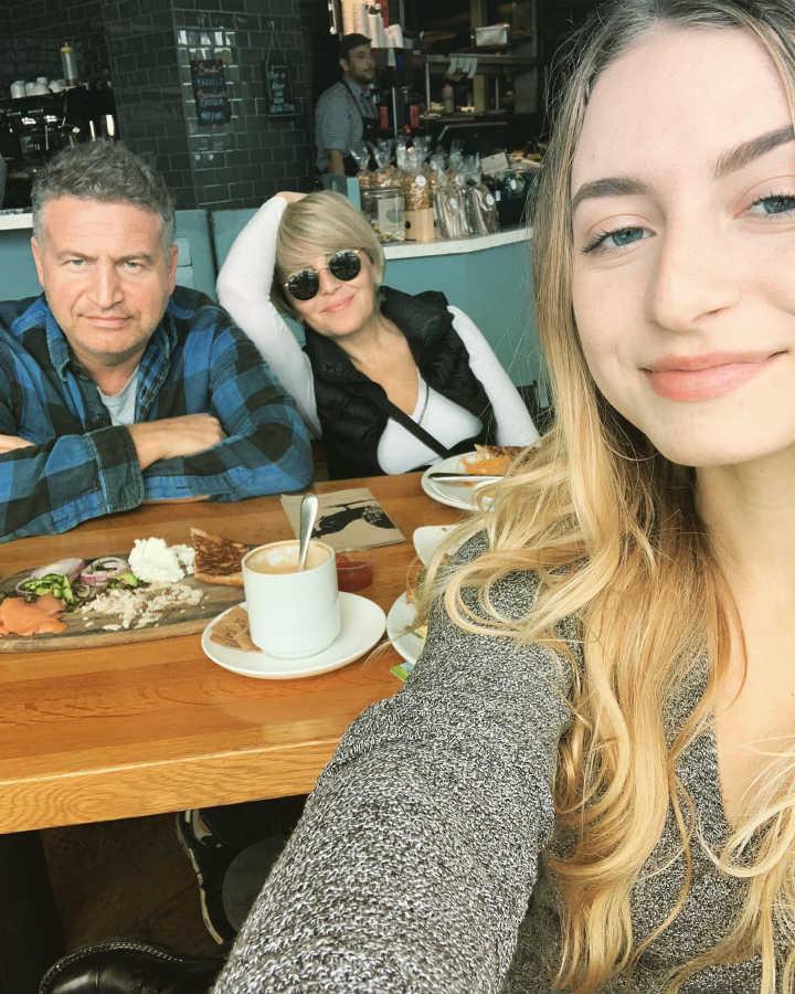 Дочь Леонида Агутина и Анжелики Варум