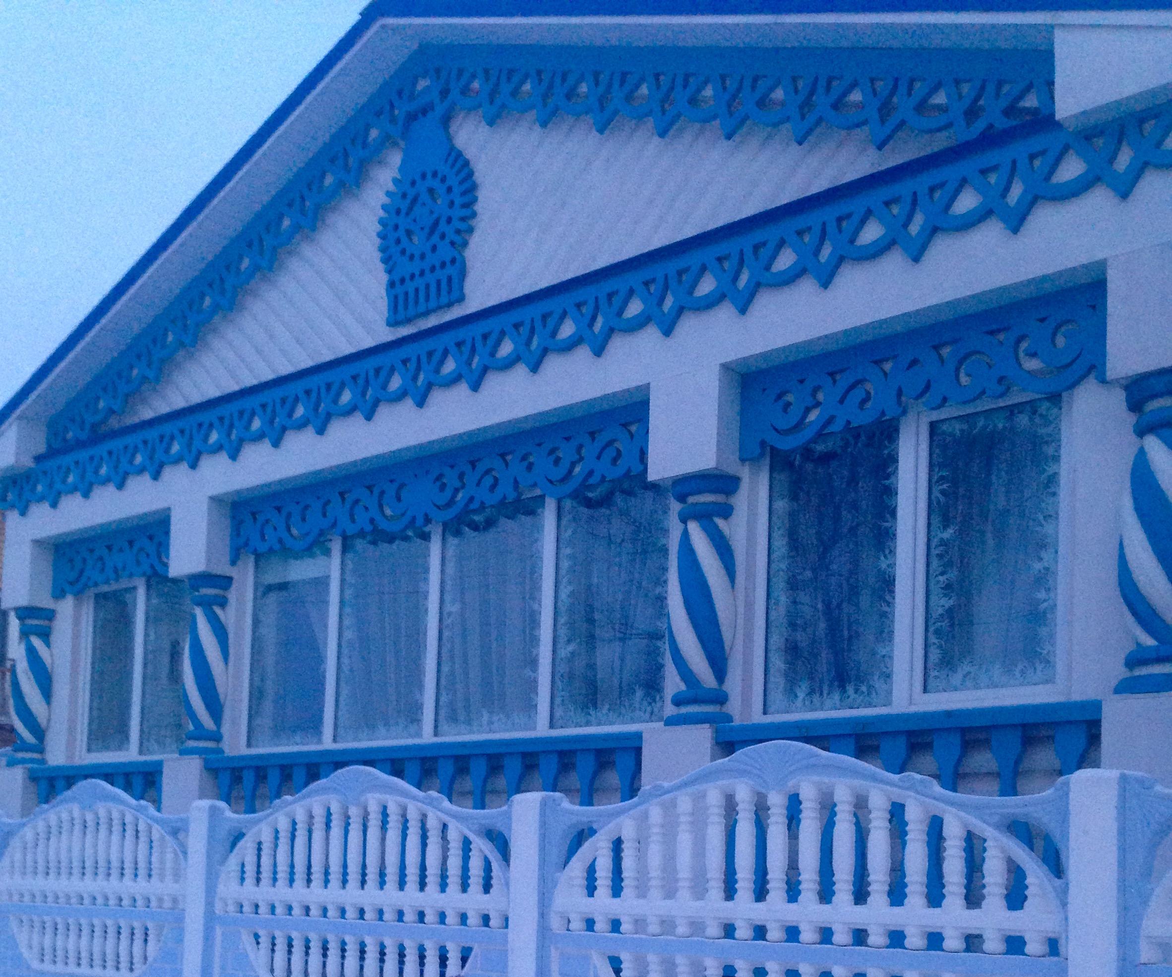 Костромские узоры. Блиц: окна