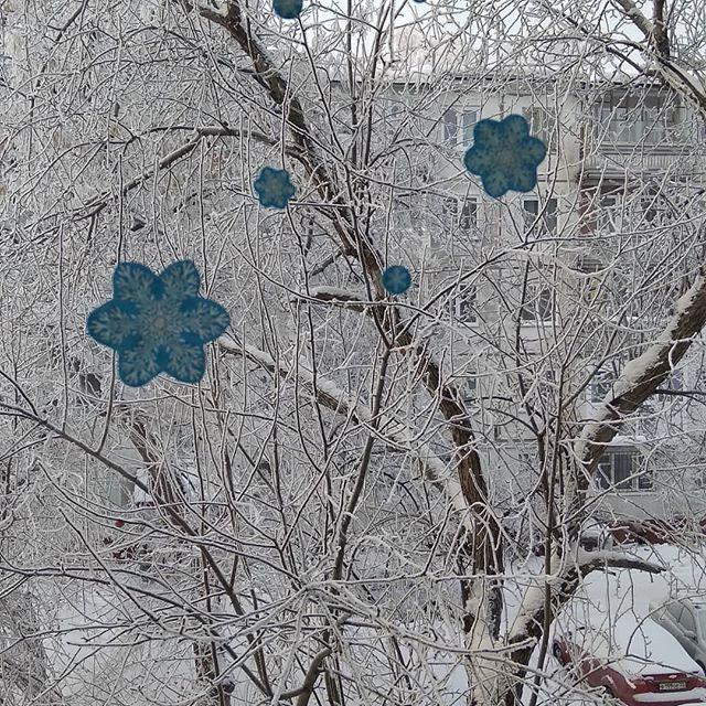 Зимнее чудо. Блиц: окна