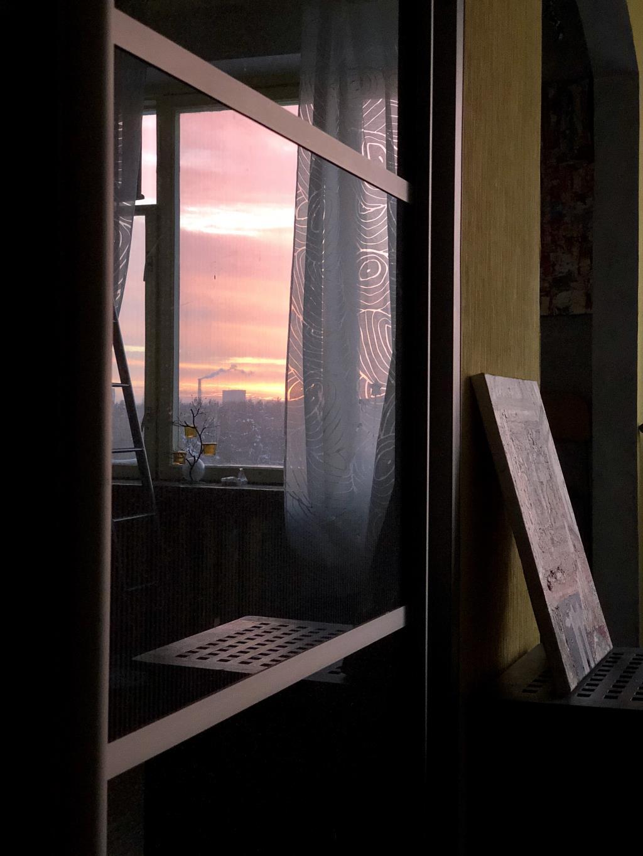 Рассвет. Блиц: окна