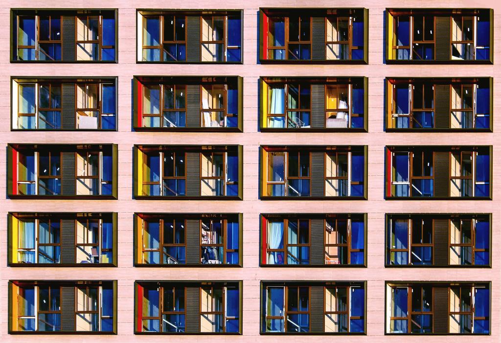 симметрия. Блиц: окна