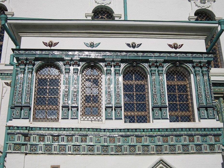 Новый Иерусалим. Окна Воскресенского собора. Блиц: окна