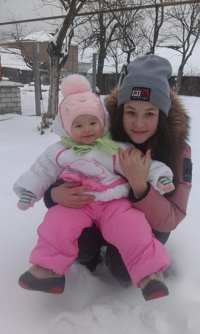 Наша первая зима. Веселая зима