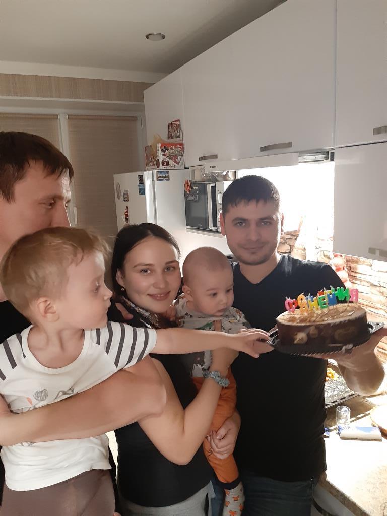 Счастье иметь родных. Счастье есть!