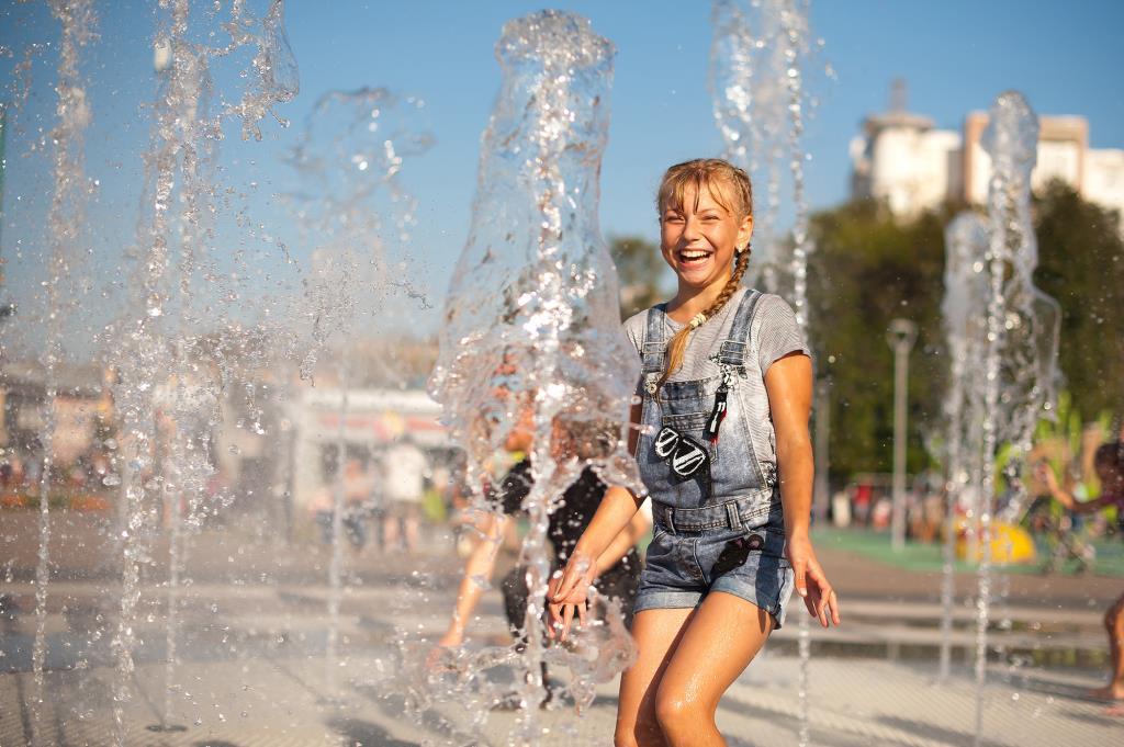 Веселый фонтан. Счастье есть!