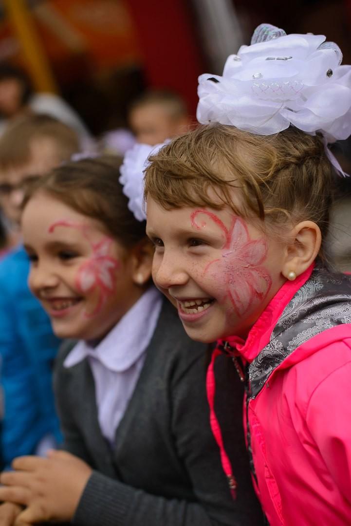вот такое счастье у детей от праздника 1 сентября!. Счастье есть!