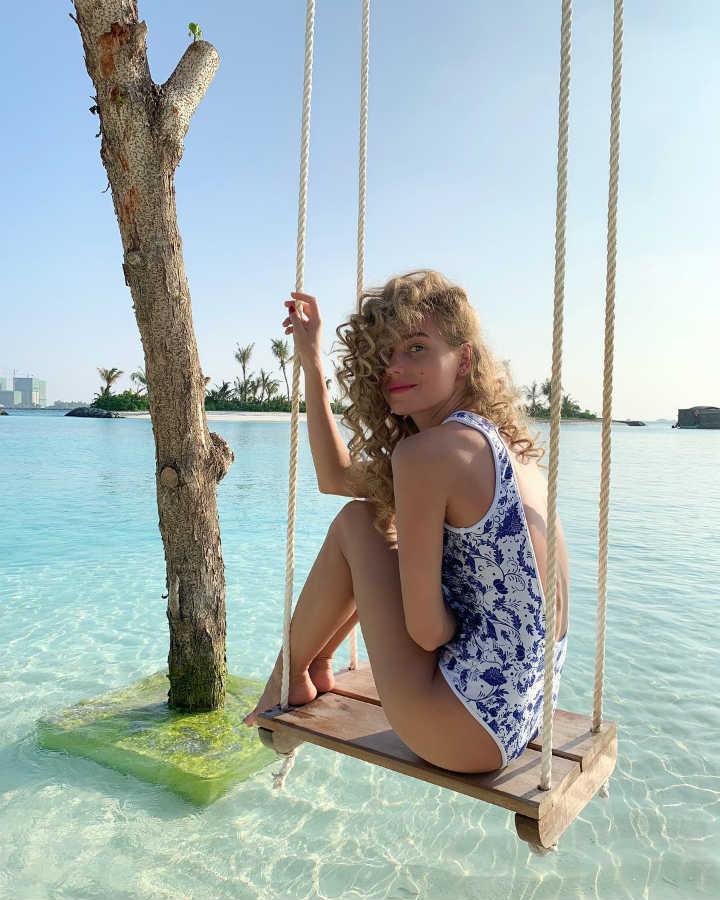 Кристина Асмус фото в купальнике