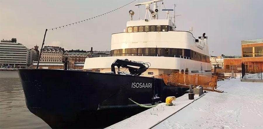Отель-корабль Исосаари