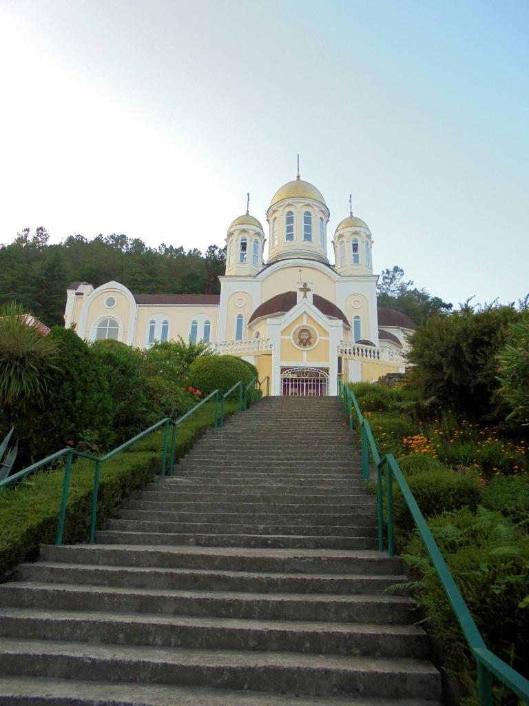 Лестница в Небо (Дагомыс, Сочи). Блиц: лестницы