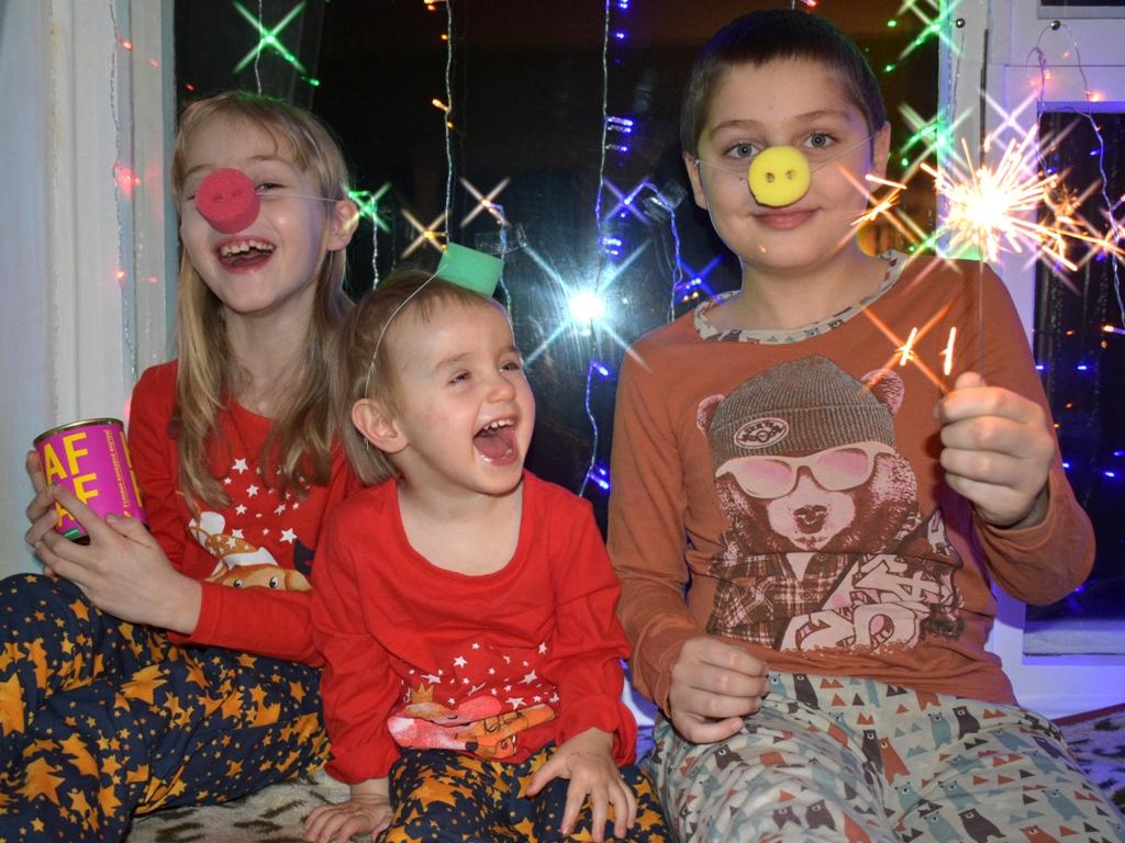 Новогодний 'свинарник'))))). Новогодний праздник