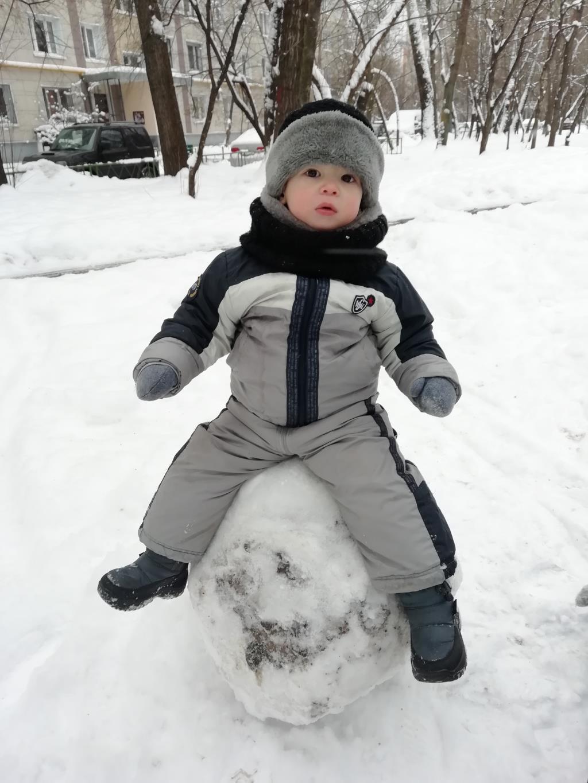 Снеговик. Веселая зима
