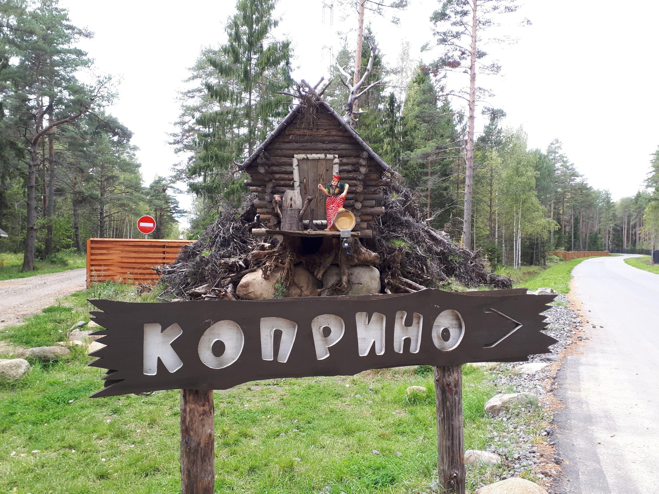 Приезжайте в Коприно!. Блиц: вывески и таблички