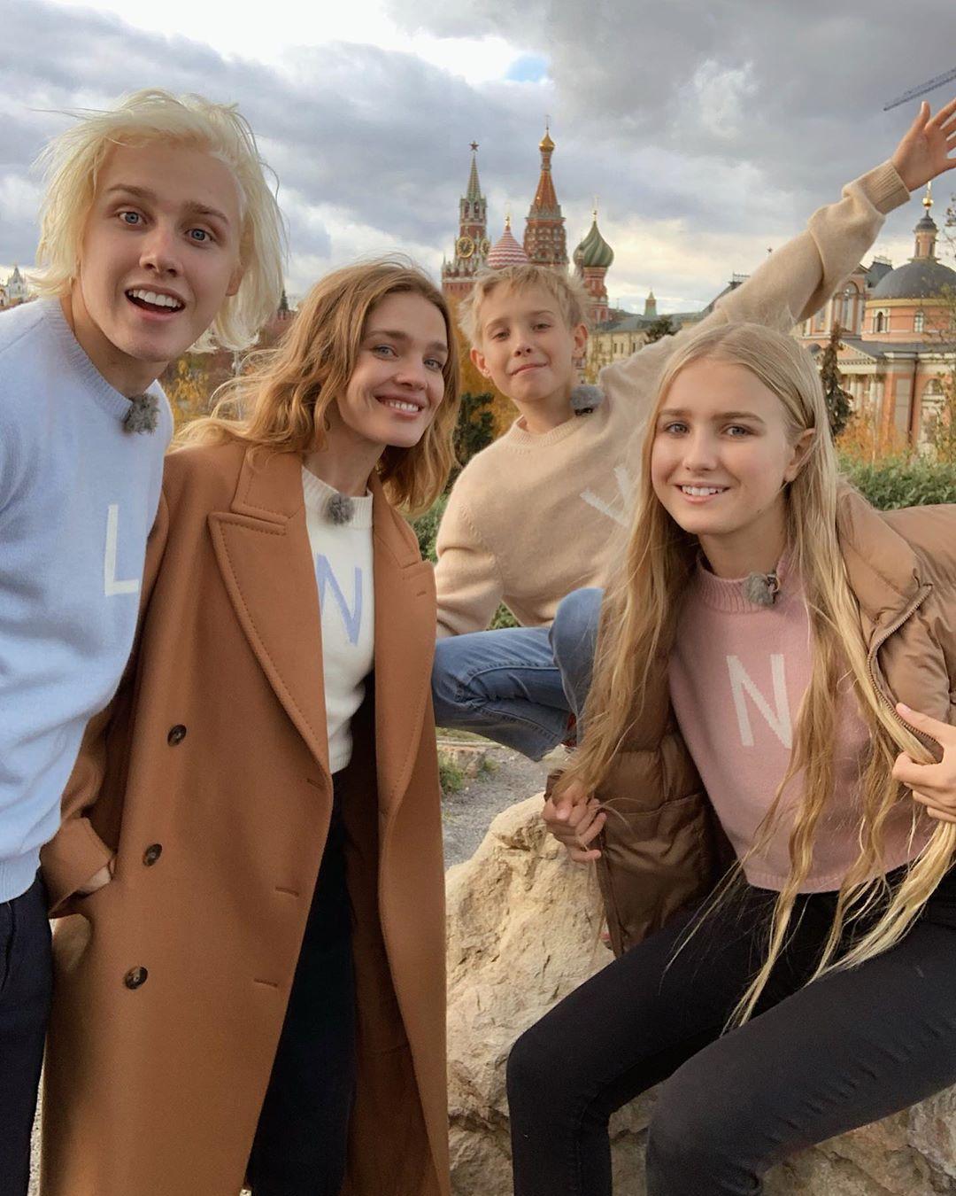 Наталья Водянова дети Москва