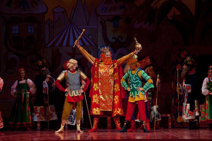 Опера Золотой петушок